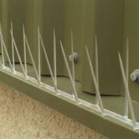 Defender 4™ Narrow Plastic Pigeon Spikes - Keep Pigeons off ledges